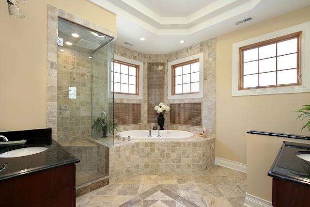 Spacious Bathrooms Decor 1