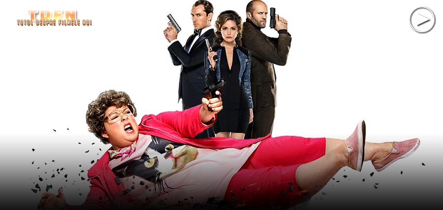 Melissa McCarthy este un spion dezastruos în comedia Spy