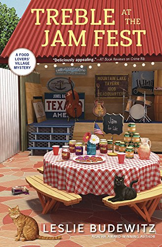 Treble at the Jam Fest (Food Lovers' Village Mysteries Book 4) by Leslie Budewitz