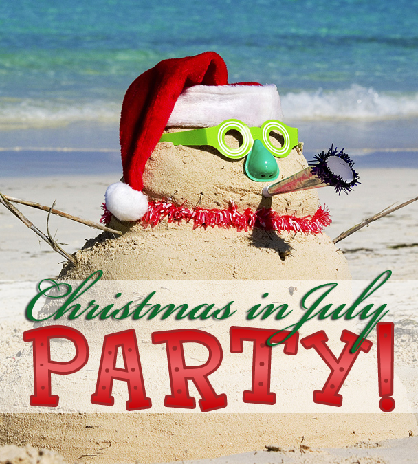 Christmas In July Party.Tis The Season Christmas In July Party