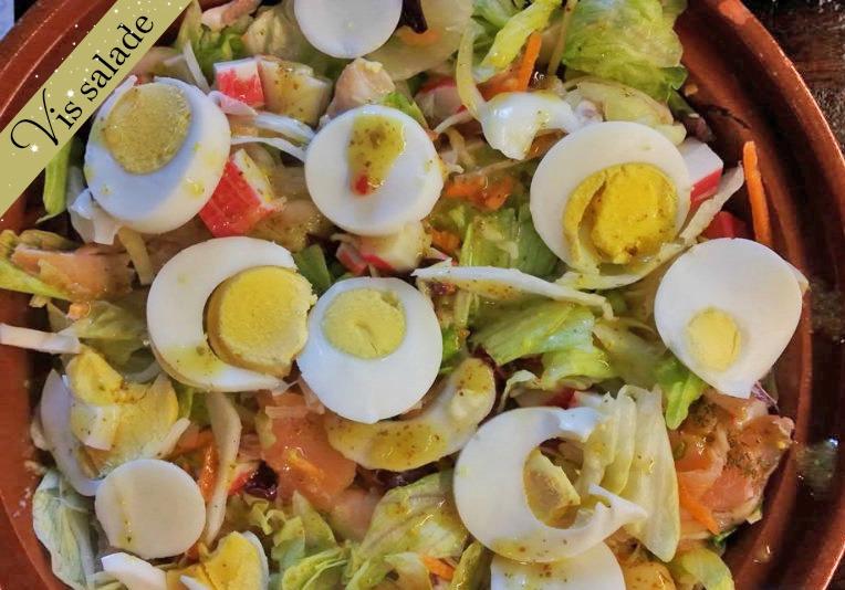 Vis salade - Maaltijdsalade