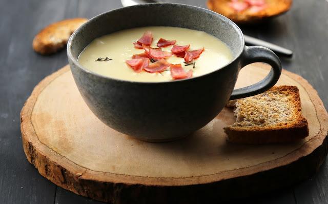 soupe tartiflette , reblochon , pommes de terre , réconfort , délice , facile