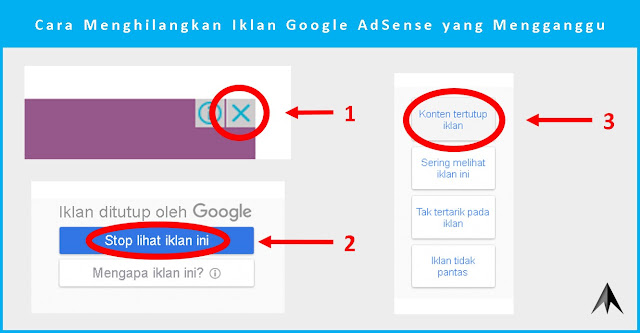 Cara Menghilangkan Iklan Google AdSense yang Mengganggu