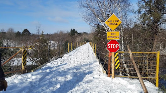 Snowmobile Trail Bridge Re-opens