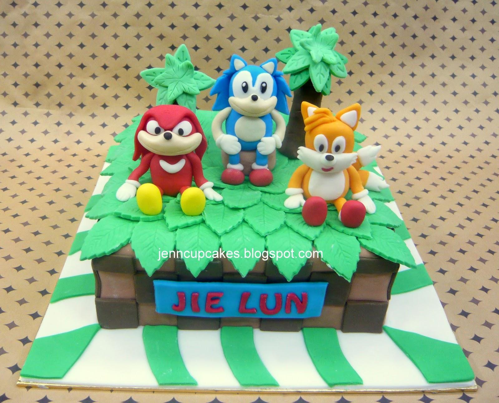 Jenn Cupcakes & Muffins: Super Sonic Cake