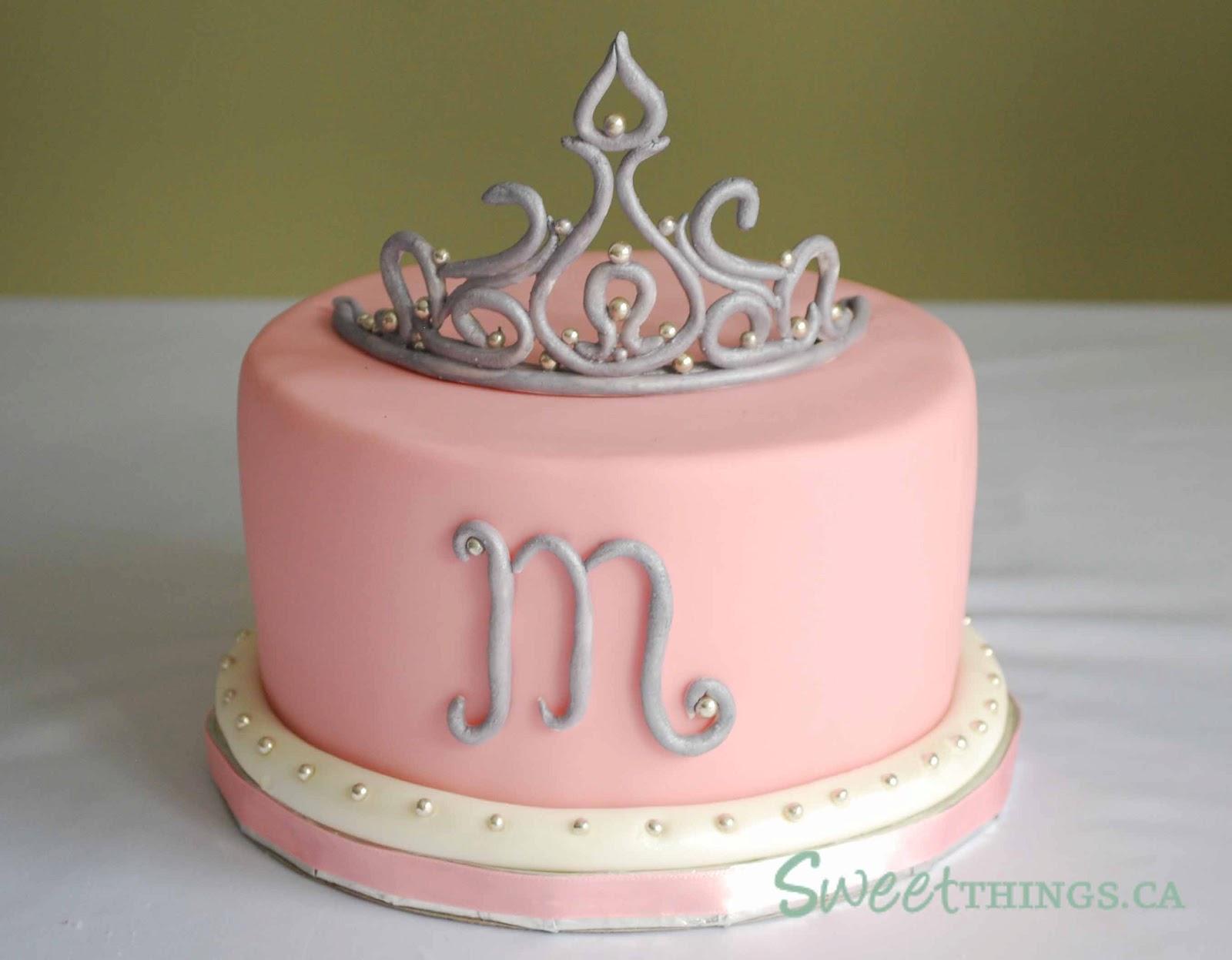 Sweetthings 8th Birthday Tiara Cake