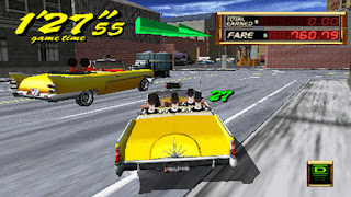 Crazy Taxi - Fare Wars PSP Games
