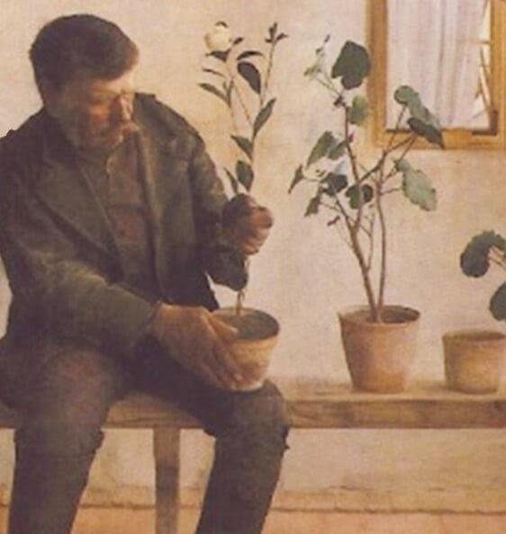 karoly ferenczy gardeners 1891
