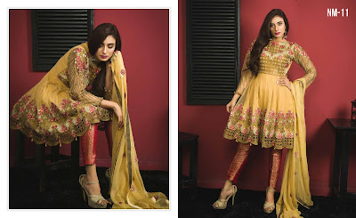 3 Mossii By Nawab Winter Dresses 2018