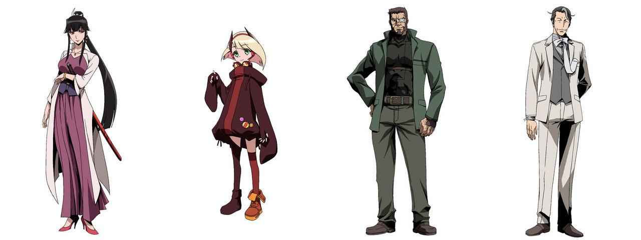 Tokunana - personajes