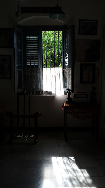 Salah satu kamar di Istana Gebang