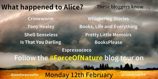 Blog Tour & Review | Force Of Nature by Jane Harper