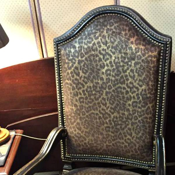 Cheetah Print Chair - Craigslist Furniture
