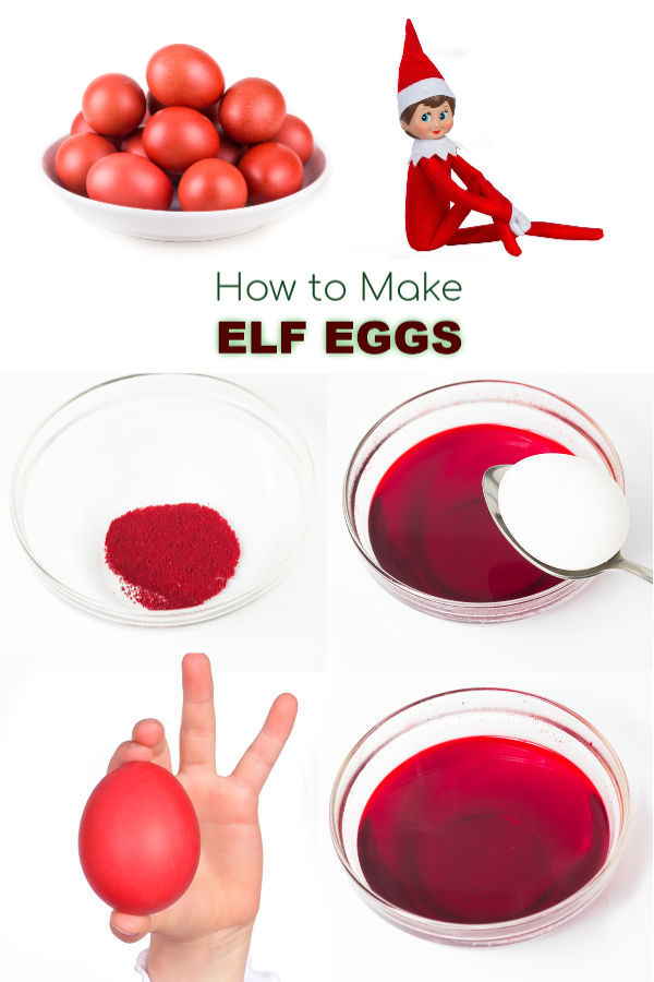 ELF EGGS experiment for kids!  A magical Christmas activity you won't want to miss! #elfontheshelfideas #elfontheshelfideasforkids elfontheshelf #elfideas #elfontheshelfideaseasy #elfeggs #howtomakeelfeggs #christmasactivitiesforkids
