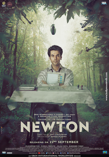 Newton 2017 HDRip 480p Hindi 300MB