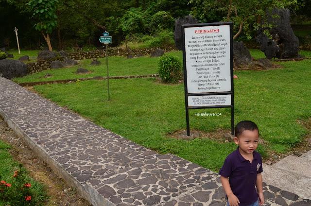 Perlu ruang informasi yang lebih menarik bagi pengunjung Taman Prasejarah Leang Leang | © JelajahSuwanto