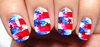 Red Star Nails
