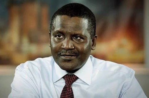 dangote 43rd richest man in the world