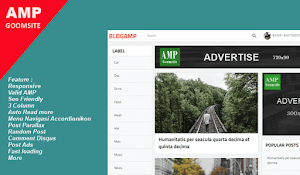 BLOGAMP Template AMP SEO untuk blogger Gratis