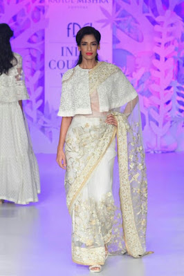Cape sarees are trending and is sure going to rock 2020.