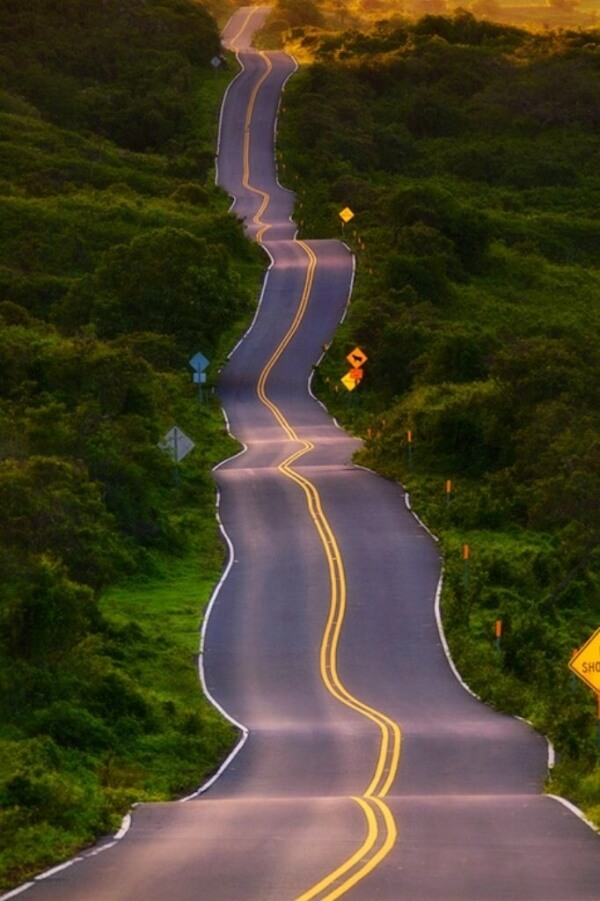 The 15 Most Hazardous Roads In The World - Hana, Hawaii