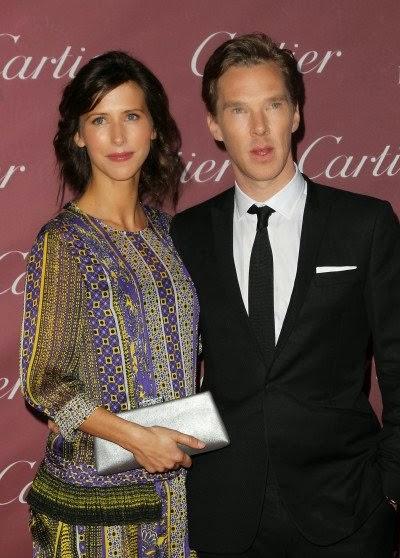 Benedict Cumberbatch Marries Sophie Hunter