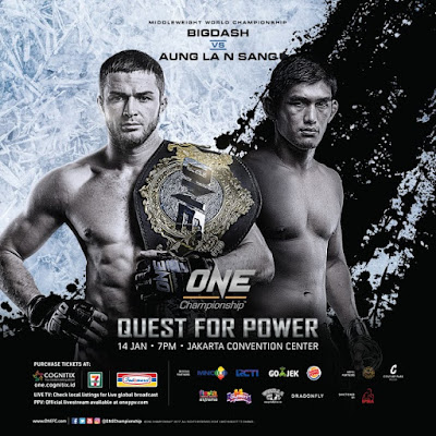 """Vitaly Bigdash will defend his title against Prachnio's replacement, """"The Burmese Python"""" Aung La N Sang of Myanmar."""
