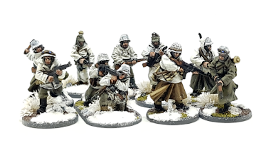 28mm Winter German Grenadiers