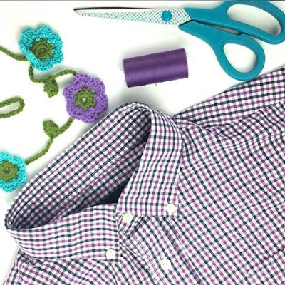 Upcycling Herrenhemd