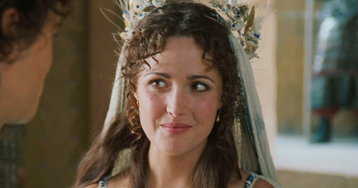 Movie and TV Cast Screencaps: Rose Byrne as Briseis / Troy (2004) / 43 Blu-Ray Caps
