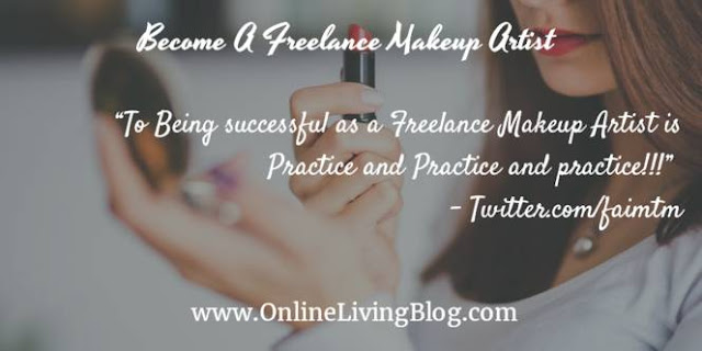 How To Become A Freelance Makeup Artist
