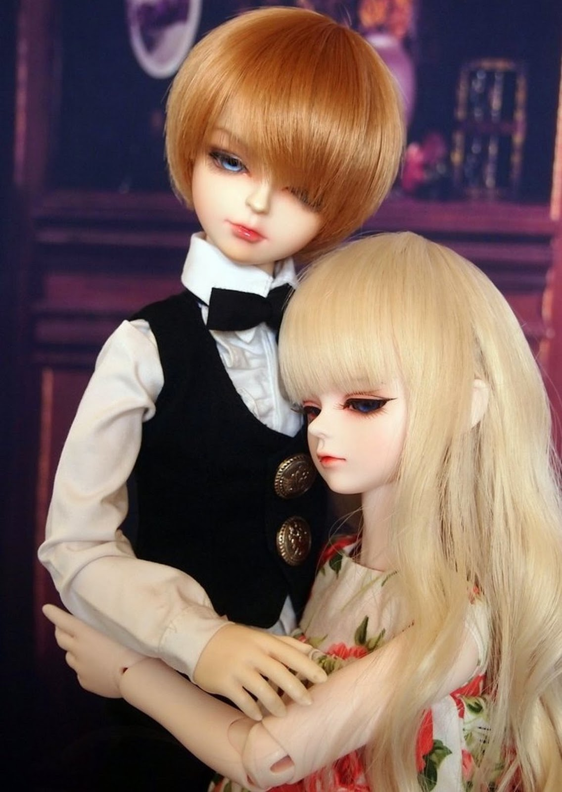 Cute Couple Doll Hd Wallpaper Beautiful Barbie Doll Couple Image Download Free All Hd