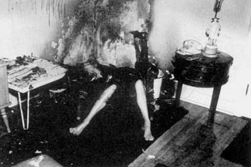 Jeannie Saffin ~ Caz paranormal de ardere spontană