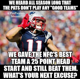 "#nfl #patriots.-we heard all season long that the pats don't play any ""good teams"""