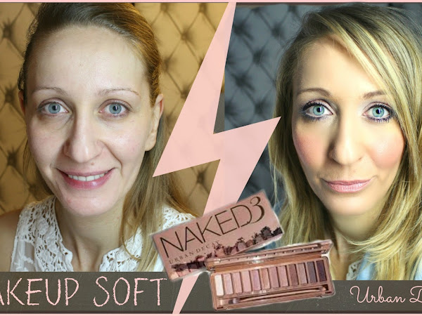 Soft natural makeup ⎟NAKED 3 ♡  Urban Decay