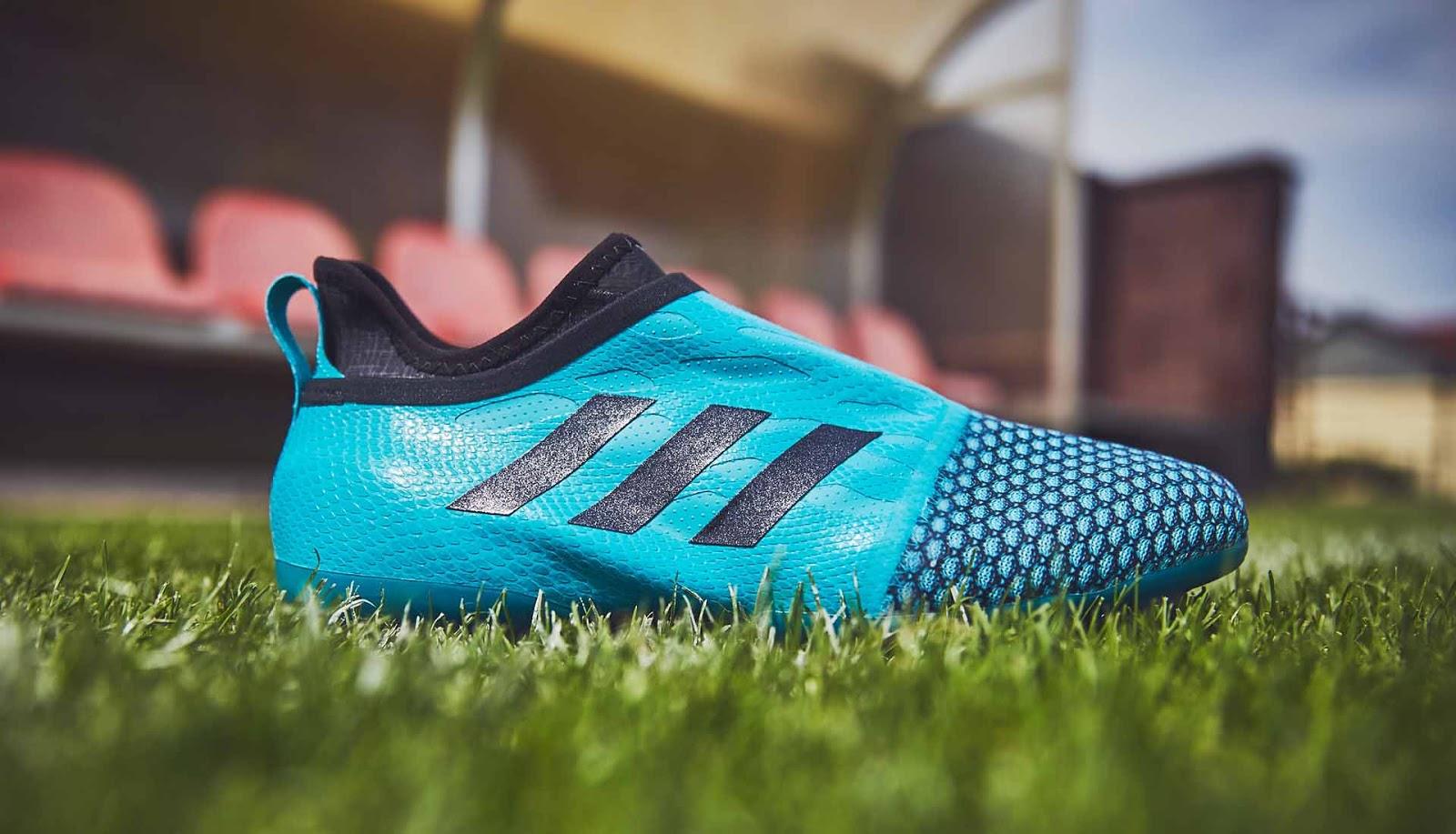 huge discount 973e2 11cae Aqua Blue Adidas Glitch Fluido Agilityknit Skin Released