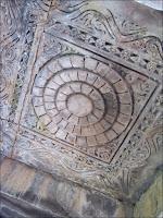 Plafond du temple de Brahma