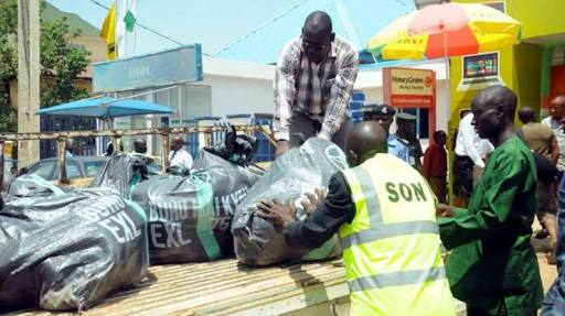 SON Confiscates Fake Products Worth N300bn