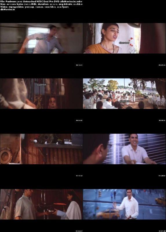 Screen Shots Padman (2018) Full HD Movie Download 720p Free