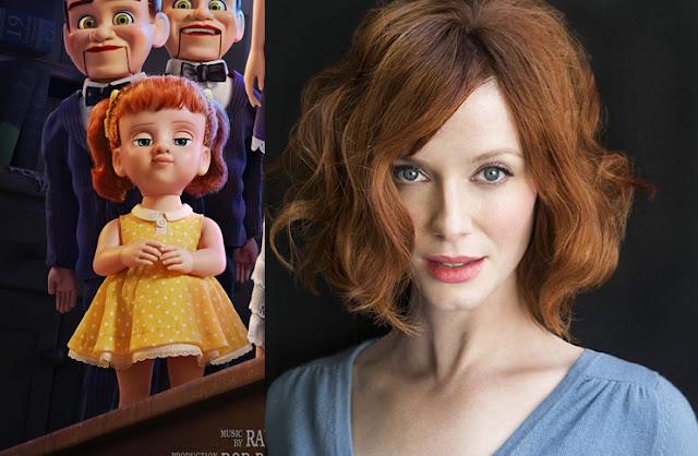 Toy Story 4 Gabby Gabby Christina Hendricks