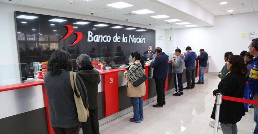 Banco de la Nación asegura atención en todo el país este lunes 9 de marzo