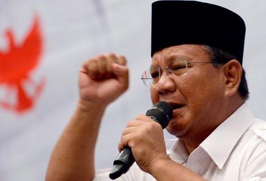 Prabowo: Kali Ini Kita Tidak Lucu dan Goblok, Kita Akan Waspada