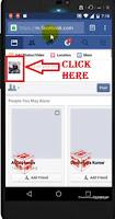 hide facebook friendlist from other