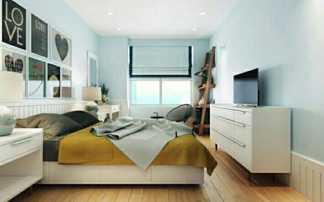 Cara desain interior rumah minimalis type 48 kamar tidur