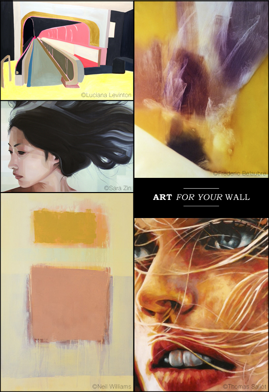 Art for your wall via Saatchi Online