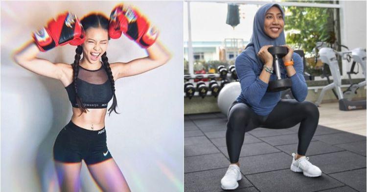10 Wanita cantik dari Negeri Jiran ini bertubuh kencang dan berotot