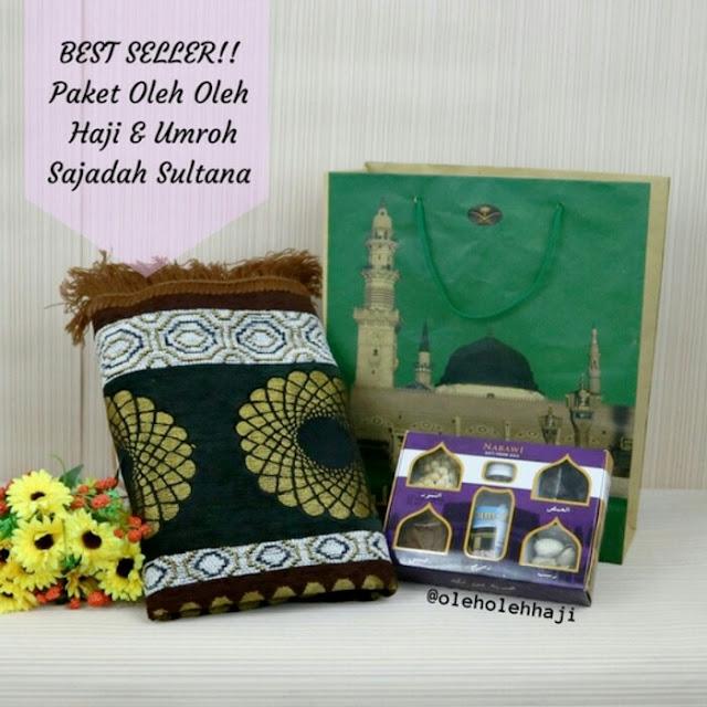 Paket Oleh Oleh Haji & Umroh +Sajadah Sultana