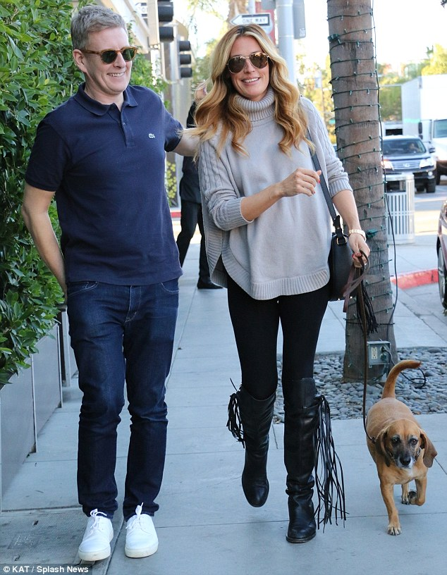 Cat Deeley wore Seraphine Sweater