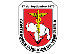 Colegio contadores de venezuela Logo Vector