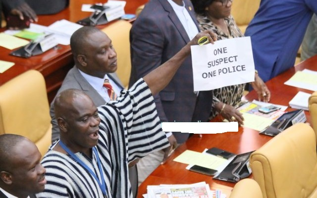 'One suspect, one police' - Majority laughs as Speaker crashes Minority